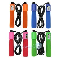 Wholesale 2 m Handle Skipping Jump Rope with Counter Number for Exercise Workout