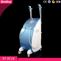 Wholesale Newest Dark Blue RF Facial Machine For Skin Rejuvenation Wrinkle Removal Home Use Radio Frequency Machine