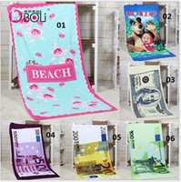 Wholesale Fashion Printing cm Hot Sale Absorbent Microfiber Bath Beach Towel Drying Washcloth Swimwear Shower
