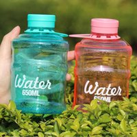 Wholesale Mix Sales Mini Water Bottle Color ml Sealing Barrel Children Water Bottles With Rope For Travel Cycling Sports
