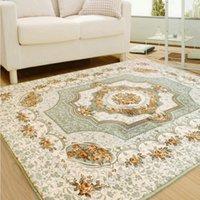 area yoga - Living Room Carpet Chair Yoga Mat Jacquard Sofa Floor Mats Doormat Rugs and Carpets Shaggy Area Rug for Home Decoration