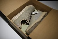 Wholesale Authentic Yeeyz Boost Pirate Black Turtle Dove Moonrock Oxford Tan Men Women Running Shoes Kanye West Yeeyzs Boots Shoes With Box