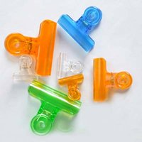 Wholesale High Quality Plastic Clips Colorful Office Paper Clip Stationery Clip mm mm mm Material Escolar