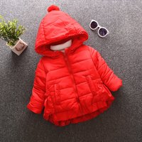 Wholesale Baby girls coat jacket winter new cotton padded jacket thick Korean children