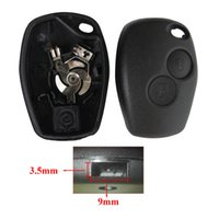 Wholesale 2 Buttons Car Key Shell Remote Fob Cover Case For Renault Dacia Modus Clio Twingo Kangoo AUP_40G