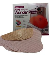 Wholesale Wonder patch pack MYMI Wonder slim patch slimming belly Patches Gel Belly patch Loss Weight Products Waist Slim Patches B1023