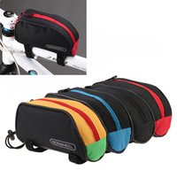 Wholesale High Quality L Roswheel Outdoor Mountain Bicycle Cycling Frame Front Top PVC Tube Bag Bike Pouch Red Blue Black Yellow