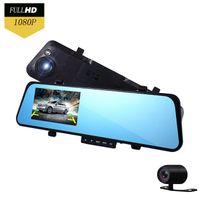 android reviews - New Car Dvr Dash Review Smart Mirror Dvr Dual Lens Camera Digital Video Recorder Rearview Mirror Monitor Recorder Full HD P