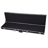 aluminum shotgun case - 53 quot Long Aluminum Locking Rifle Gun Case Lock Shotgun Storage Box Carry