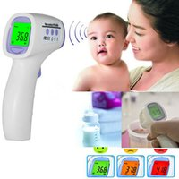 Wholesale Non contact Body Skin Infrared IR Digital Thermometer For Baby Kids Adult E00396 BARD