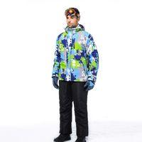 Wholesale 2016 Ski Jacket Men Snowboard Winter Ski Suit Snowboarding Suits Mens Snowboard Jackets Waterproof Outdoor Sport Suit Colorful
