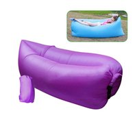 Wholesale Fast Inflated Inflatable Lounger Beach Lounger Air Sleeping Bag Hangout Portable Dream Chair in Stock