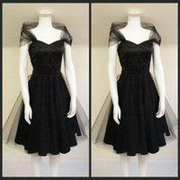 apple lists - New Listing s Style Party Dresses Romantic Feminine Little Black Party Dress Off Shoulder Vintage Designer Cocktail Dress High Quality
