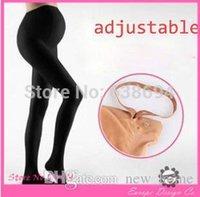 Wholesale 2015 Autumn Winter cotton Adjustable High elasticity Skin color black maternity leggings pregnant clothes pants NEW D