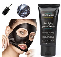 Wholesale Ship in day Shills Peel off face Masks Deep Cleansing Black MASK ML Blackhead Facial Mask Shills Deep Cleansing Black MASK Matte DIY