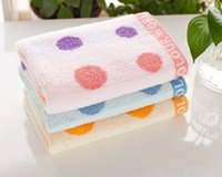 baby mouth wipes - Cotton Towel Manufacturers Color Circle Untwisted Cotton Towel Children Infant Baby Towel To Wipe Your Mouth HY1255