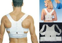 Wholesale OPP bag packing Magnetic Posture Support Corrector Back Pain Feel Belt Brace Shoulder