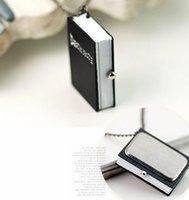 Wholesale Unique Death Note Bronze Necklace Chain Pocket Watch Necklace Chain Death Note Pendant Necklace Christmas Gift