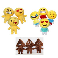baby poo - Very cute catoon emoji Poo Shape doll Stuffed Plush toy expression smile kiss angry cry face excrement model baby kids best gift