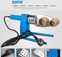 Wholesale 20 mm MODE AC220V W Plumber tool plastic PP R PERT TUBE welding machine TUBE Welders Automatic Heating