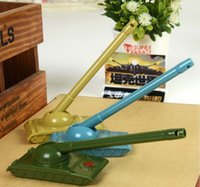 Wholesale Korea Stationery Novelty Army Tank Style Gel Ink Gift Pen