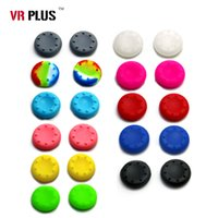 Cheap 11 Colors Rubber Silicone Thumb Sticker Analog Grips Cap Gamepad Joystick Cover Case For Sony PS3 PS4 Xbox 360 Controller Game Control Case