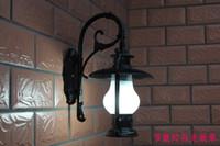 Wholesale 10W LED V V Outdoor wall lights waterproof vintage kerosene lamp aluminum die casting outdoor led wall sconce