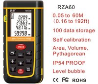 Wholesale Handheld Rangefinder Laser Distance Meter Digital Laser Range Finder Laser Tape M M M M meters Tester Area volume Angle