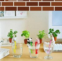 best computer desk - Mini Auto Water Absorption Animal Potted Plants Office Desktop Plant Your Best Choice most suitable on the computer desk