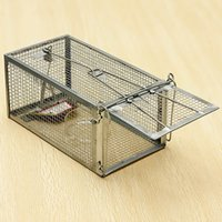 animal cage traps - Reusable Hamster Cage Mice Rat Control Catch Bait Live Trap Rodent Animal Mouse