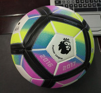 Wholesale Arrival Premier League Size Seamless PU Soccer Ball Top Quality th Premier League Football With Gas needle