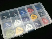 acoustic bass box - of Alice Acoustic Electric Guitar Picks Bass Plectrums Large Plastic Picks Box Case