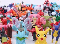 Wholesale 2016 Poke Figures Toys cm Pikachu Charizard Eevee Bulbasaur Suicune PVC Mini Model Toys For Children