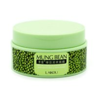 bean nutrition - LAIKOU Nutrition Deep Clean Mung Bean Mask Face Mask Cream Essence Moisturizing Oil Control Anti Aging Cream Anti Wrinkle Cream