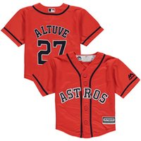 baby houston - Cheap youth Houston Astros Jose Altuve Carlos Correa Colby Rasmus jerseys Baby old year toddler Jersey stitched S L