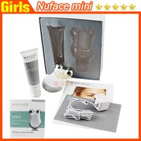 microcurrent equipment - New arrival Nuface mini facial toning device beauty face massager electric roller Multi Functional Beauty Equipment travel package VS PMD