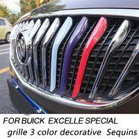 Wholesale for bucik excelle special grille color decorative Sequins for buick special auto grid molding Aluminum alloy Car Grills decoratve