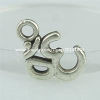 om pendant - 15156 Alloy Antique Vintage Mini OM Aum Ohm Hindu Yoga Jewelry Pendant