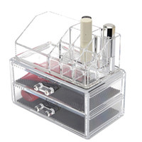 Wholesale Acrylic Makeup Make Up Lipstick Display Stand Holder Cosmetic Storage