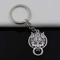 antique door latches - Fashion diameter mm Key Ring Metal Key Chain Keychain Jewelry Antique Silver Plated door latch guardian beast mm Pendant