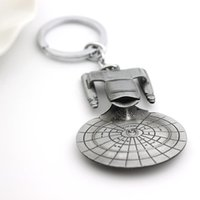 air treks - Star Trek Spacecraft U S S Enterprise Air Plane Charm Keychain Key Ring Pendant Film Collection