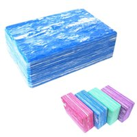 Wholesale Non Slip Yoga Pilates Blocks Bricks Foaming Foam Exercise Health Gym Practice Training Tool for Home Fitness MD0025