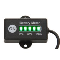 battery mowers - Battery Fuel Gauge Battery Meter V V Lead Acid Battery Tester for car motorcycle e bike lawn mower ATV UTV