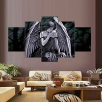 anne stokes art - 5 Set Printed Anne Stokes Picture Painting Wall Art Room Decor Print Picture Canvas Stickers Home Decor Art Picture