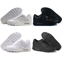 athletics upper - Men women all black white air running shoes athletic shoes maxes leather net upper sports shoes sneakers
