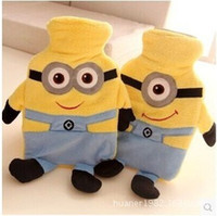 baby bottle tags - Despicable ME Minions Hot water bottle Toy Jorge Stewart Dave with tags baby soft toys
