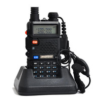 Wholesale 2 BaoFeng UV R Walkie Talkie Dual Band Transceiver Mhz Mhz vhf uhf ham radio baofeng uv r