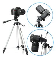 Wholesale Weifeng WT A Professional Tripod Stand Aluminum Camera Tripod for Canon Nikon Sony DSLR Camera Video Camcorder
