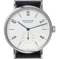 auto simple - Famous Name Brand Nomos Mens Watches Genuine Leather Luxury Watch Men Business Simple ATM Quartz Watch Montre Homme de Marque