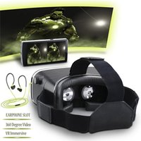 augmented reality - VR Box Virtual Augmented Reality Cardboard D Video Glasses Headset Compatible with Inch Android iPhone iPhone s Plus Samsung